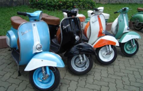 Vespa Modifikasi by Modifikasi Modifikasi Vespa Scooter