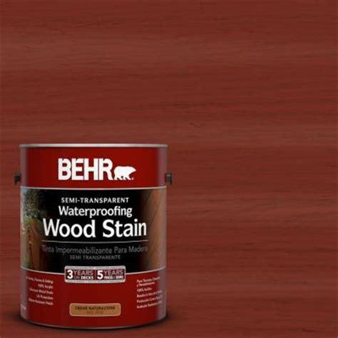 behr  gal st  redwood semi transparent waterproofing
