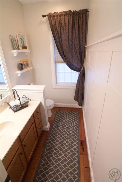 bathroom makeover   budget  diy village