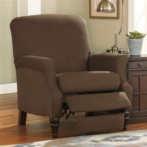 bromwich chocolate high leg recliner signature design