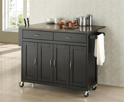 print  kitchen carts  wheels movable meal preparation