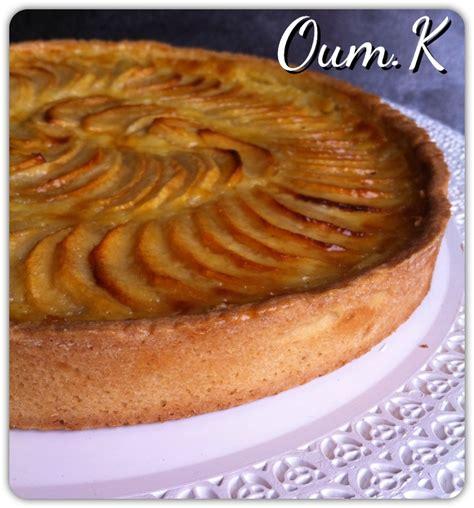 tarte aux pommes alsacienne les d 233 lices d oum kamila