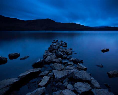 rock jetty derwentwater lake district travel