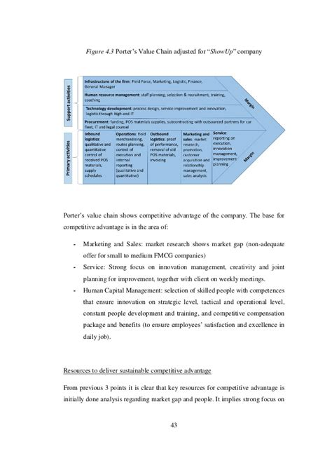 Business Plan Merchandiser