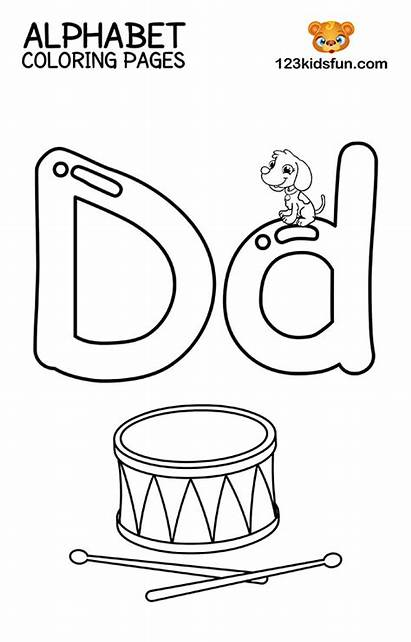 Coloring Alphabet Printable Worksheets Letter Writing Letters