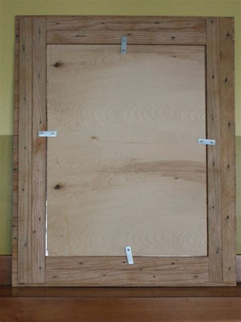 build  picture frame  reclaimed oak