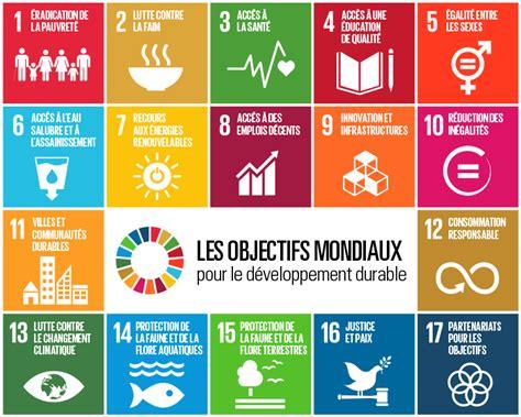 Les objectifs mondiaux pour le développement durable ...