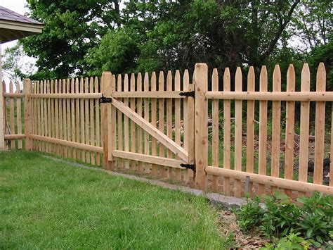wood fencing sentry fence iron company