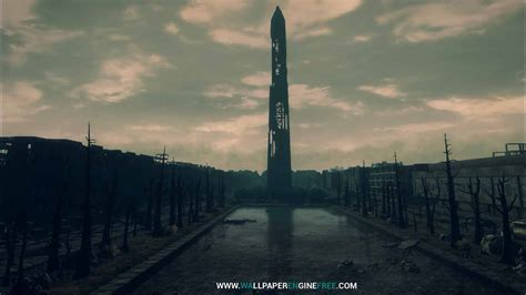 fallout  washington monument wallpaper engine