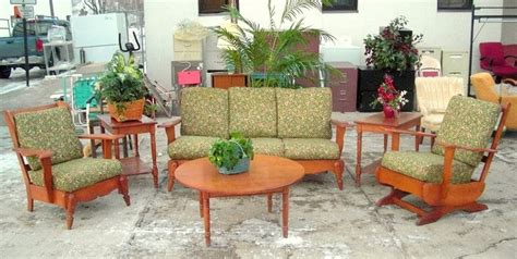 Stores That Sell Outdoor Furniture by The Garage Sale Archeologist Mid Century Rock Maple