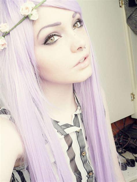 Top 25 Ideas About Light Purple Hair On Pinterest