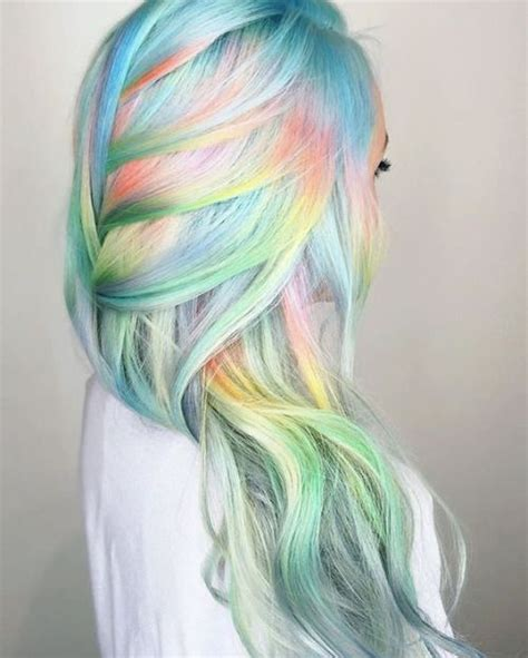 25 Best Ideas About Pastel Rainbow Hair On Pinterest