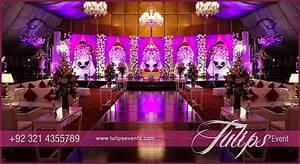 Plum Gold Wedding Reception - Tulips Event Management
