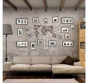 Decoration Murale Monde : d coration murale metal disponible sur notre boutique artwall and co chambre pinterest ~ Teatrodelosmanantiales.com Idées de Décoration