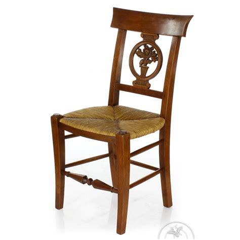 chaise bois paille chaise ancienne bois et paille fleurs saulaie