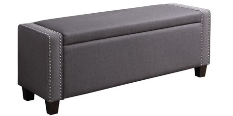 Settee With Storage by Absolute Settee With Storage In Grey Colour Dreamzz