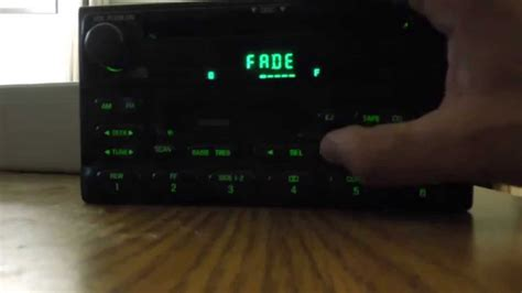 dvd player auto test ford radio cassette cd player test