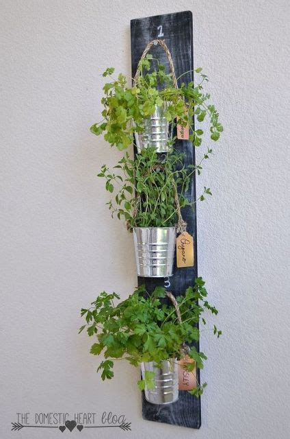 Vertical Herb Garden In Your Kitchen by 1000 Ideas About Kitchen Herb Gardens On