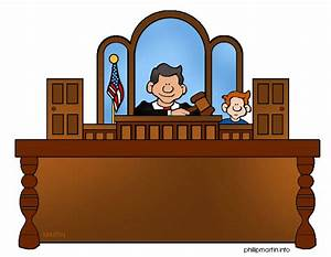Judge In Court Clipart - Clipart Suggest