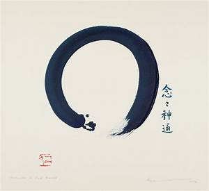 Art Gallery To Feature  U0026 39 Enso  Zen Circles Of Enlightenment