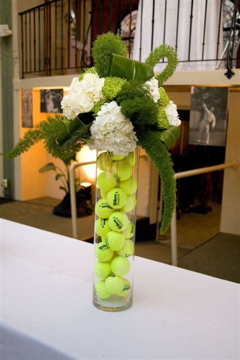 sports centerpieces for tables sports centerpiece large vases each filled with different