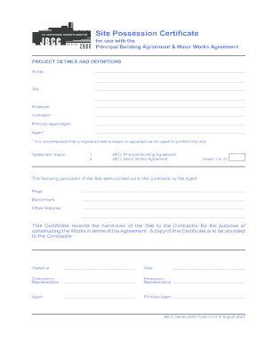 editable offer  possession letter format samples