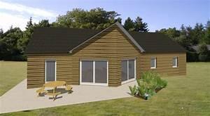 modele maison estelle becokit maisons ossature bois With idee maison plain pied 4 becokit gamme de maisons chalets en ossature bois
