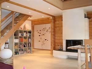 Deco Mur Interieur Moderne : maisons bois clermont ferrand auvergne 63 castor bois ~ Teatrodelosmanantiales.com Idées de Décoration
