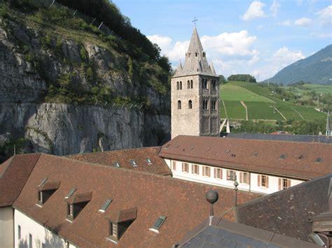 histoire de l abbaye abbaye de maurice