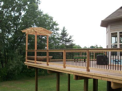 decks with pergolas southeastern michigan custom pergolas photo gallery by gm construction in howell mi