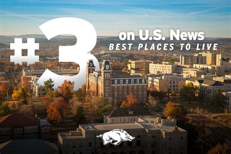 """Fayetteville Ranked In """"best Places To Live""""  Arkansas"""