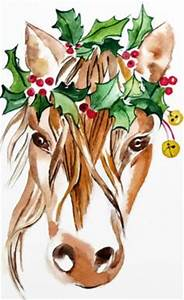 Watercolor Christmas Cards on Pinterest