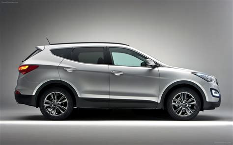 hyundai santafe cool hyundai santa fe 2013 widescreen car wallpapers 02