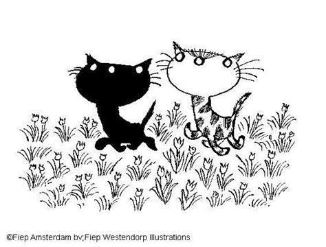 Kleurplaten Fiep Westendorp by Pim En Pom Fiep Westendorp Drawings Cat