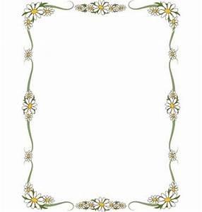 Daisy border vector | Romantic Embroidery & Cross stitch ...