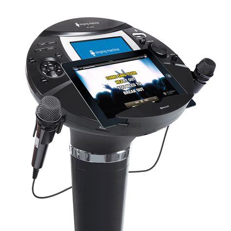singing machine ismbt  digital hd karaoke system