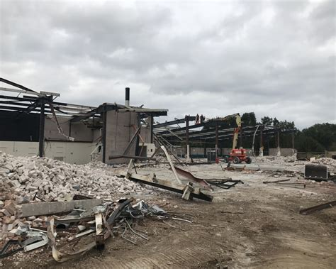 ford training centre daventry ads demolition