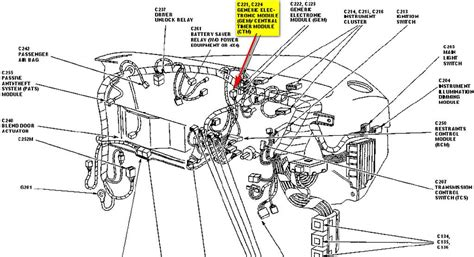 Car Wire Diagram 99 Ranger by Module Gem Central Timer Module Ctm Conditions Details