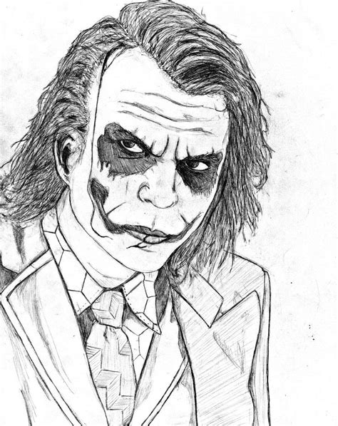joker coloring pages ideal batman  joker coloring pages