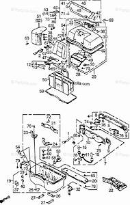 Honda Motorcycle 1985 Oem Parts Diagram For Rear Trunk