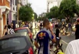 Driver Plows Through Cyclists - Video | eBaum's World