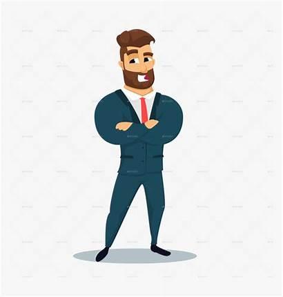 Businessman Haracter Clipart Fun Transparent Kindpng