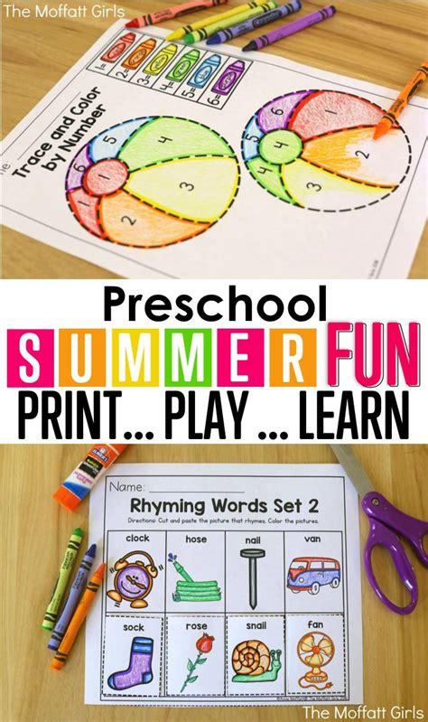 best 20 preschool activities ideas on 769 | eb66cb42aa85fc872c5190cefcf45adf preschool summer review summer school ideas for kindergarten