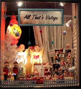 All, That, U0026, 39, S, Vintage, All, That, U0026, 39, S, Vintage, Window, Displays, Merry, Christmas