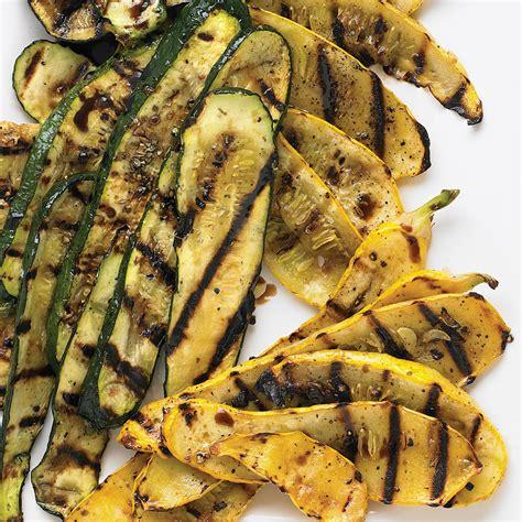 grilled zucchini  summer squash recipe martha stewart
