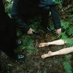 Crime Scene Dead Body in the Woods
