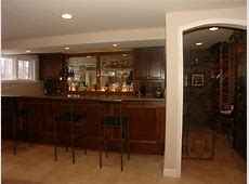 cabinets mirror shelves Baseball Basement Bar