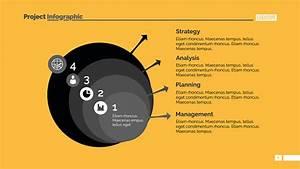 Business Step Diagram Slide Template Stock Illustration
