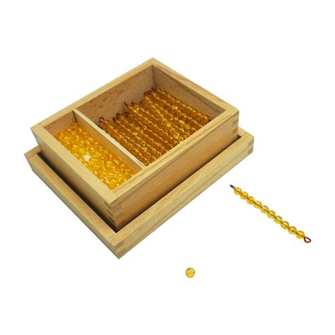 golden beads  dynamic set premium montessori