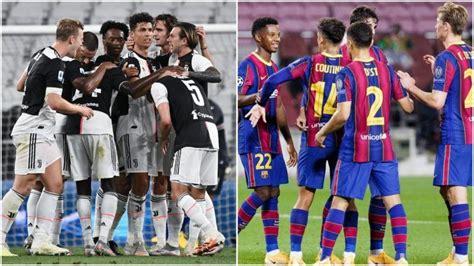JUV Vs BAR UEFA Champions League Juventus Vs Barcelona ...